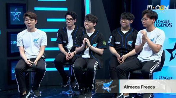AFs全队赛后采访:希望战胜SKT,最终进到决赛